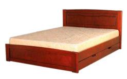 деревянная кровать Ариэль