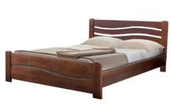 деревянная кровать Волна-3