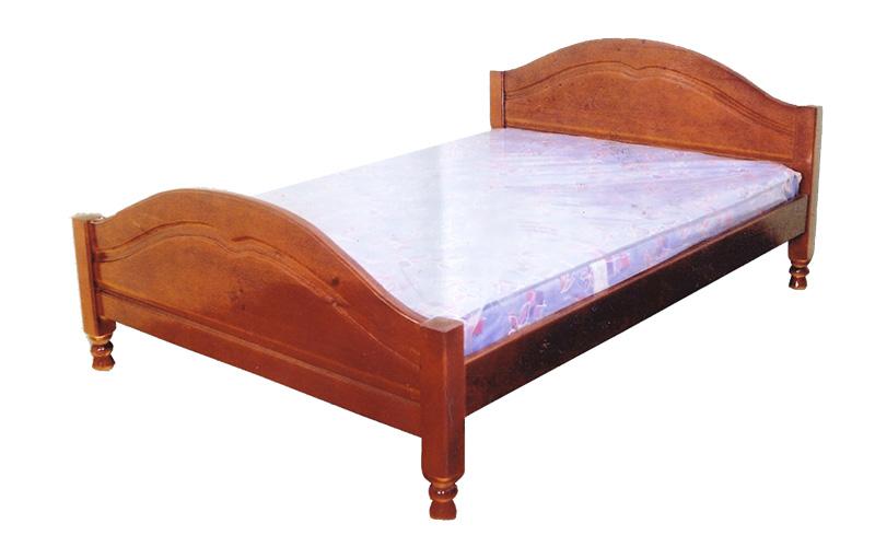деревянная кровать Филенка №3