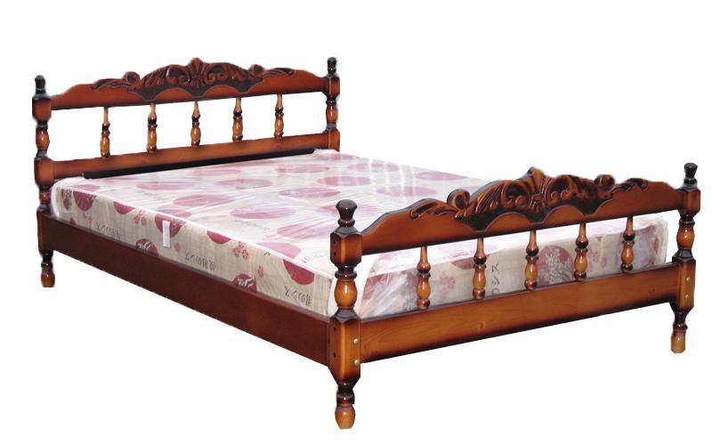 деревянная кровать Каролина