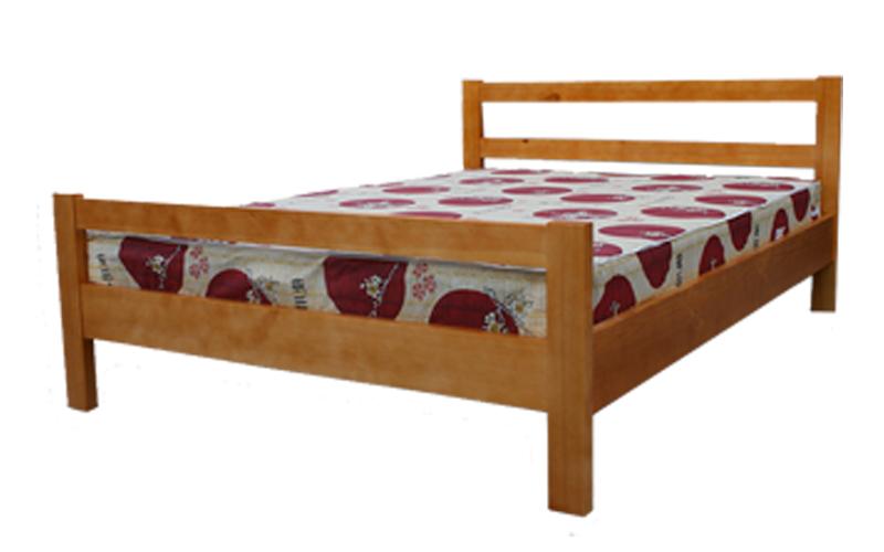 кровать из массива дерева Ника