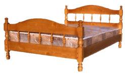 деревянная кровать Точеная