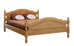 деревянная кровать Жанна