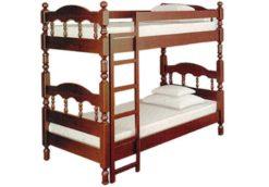 Кровать двухъярусная Точеная-1