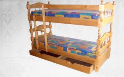 Кровать двухъярусная Точеная 2