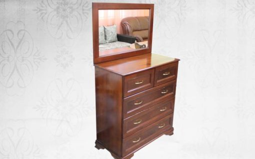 деревянный комод Классика с зеркалом