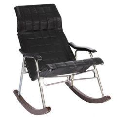 кресло-качалка Белтех складное черное