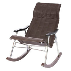 кресло-качалка Белтех складное коричневое