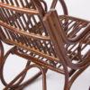 кресло-качалка из ротанга Классика