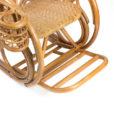кресло-качалка из ротанга Корал (Ново люкс)
