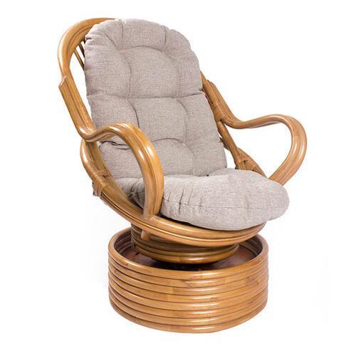 кресло-качалка из ротанга Давао