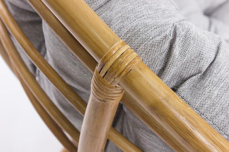 кресло-качалка из ротанга Папасан Рокер