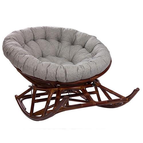 кресло-качалка из ротанга Папасан