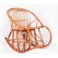 плетеное кресло-качалка №3
