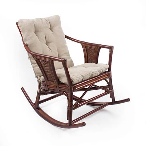 кресло-качалка из ротанга Canary