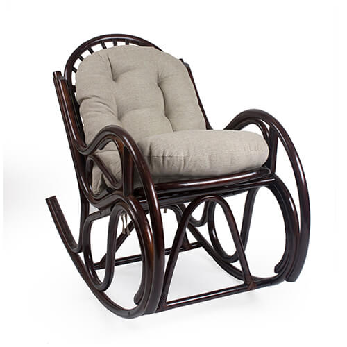 кресло-качалка из ротанга Bella