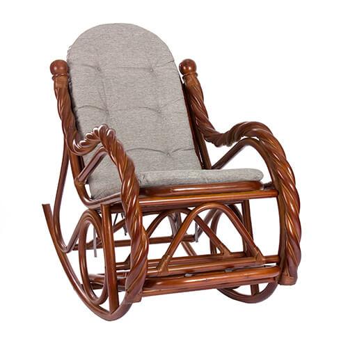 кресло-качалка из ротанга Silesia