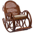кресло-качалка из ротанга Nugo