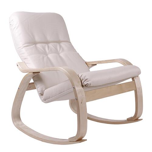 мягкое кресло-качалка Сайма ткань