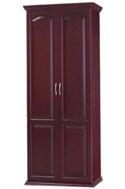 распашной шкаф из массива дерева № 1