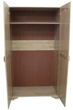 распашной шкаф из массива дерева № 2 Классика