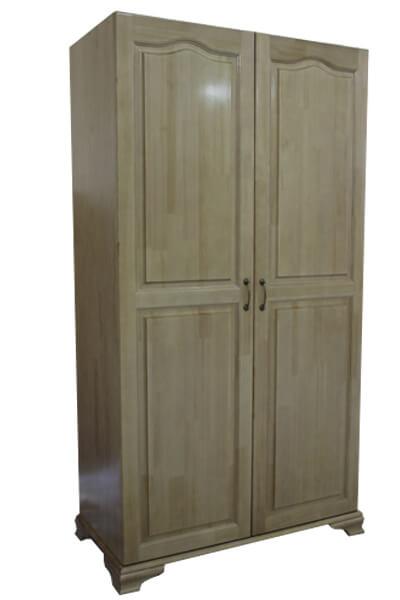 распашной шкаф из массива дерева № 2
