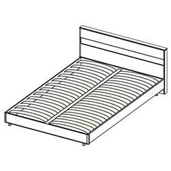 Кровать 1,4х2 «Флоренция»