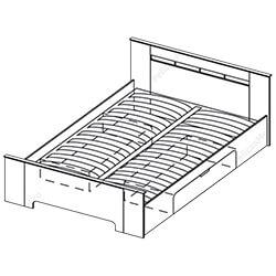 Кровать 1,4х2 «Грация»