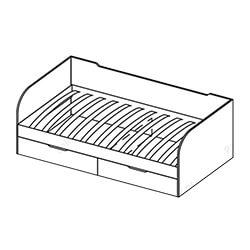 Кровать с ящиками «Мозаика»