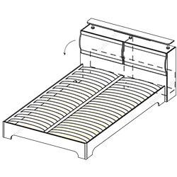 Кровать-1 «Симона»