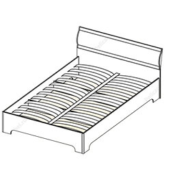 Кровать-2 «Симона»