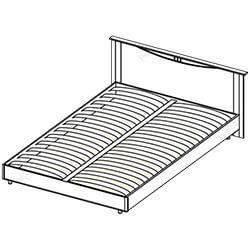 Кровать 1,4х2 «Венеция»