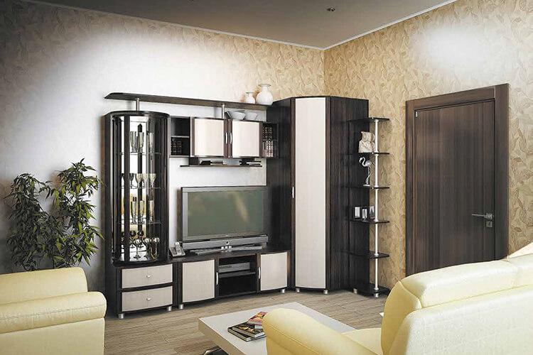 модульная гостиная Глория-10