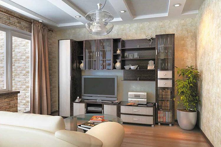модульная гостиная Глория-6