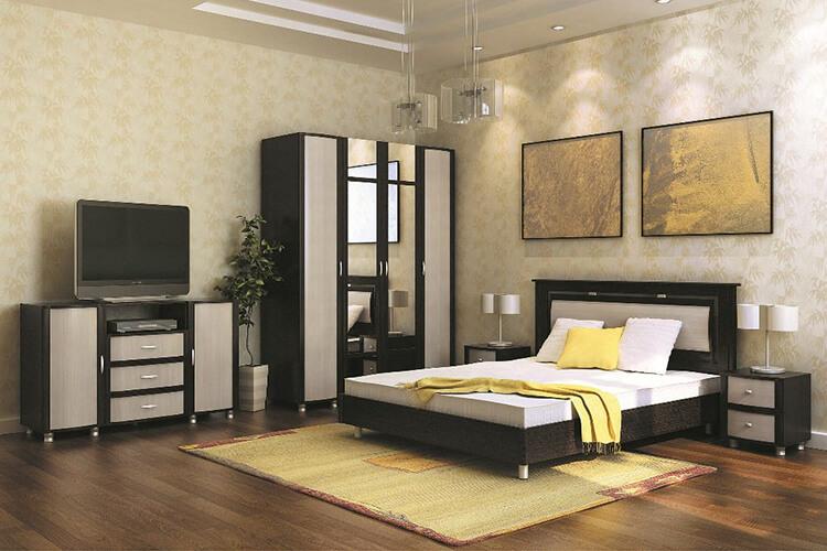 модульная спальня Камелия-1