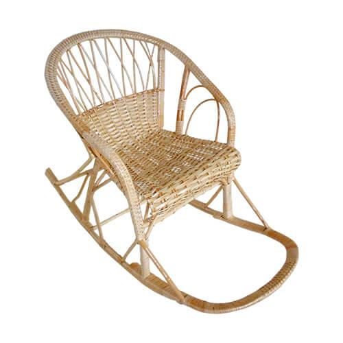 плетеное кресло-качалка Весна