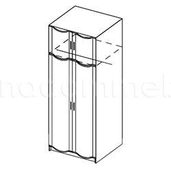 Шкаф 2-створчатый «Магнолия»