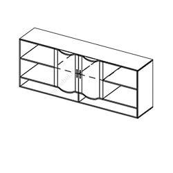 Шкаф навесной-2 «Мозаика»