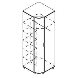 Шкаф угловой «Мозаика»
