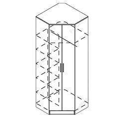 Шкаф угловой «Ника»