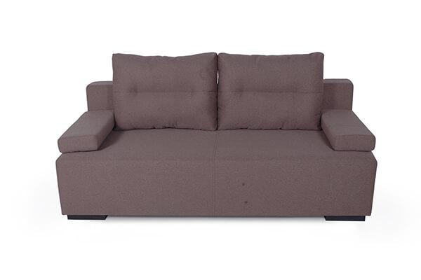 диван еврокнижка Манго коричневый